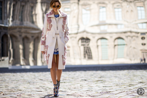 Outside Dior Show, PFW AW15