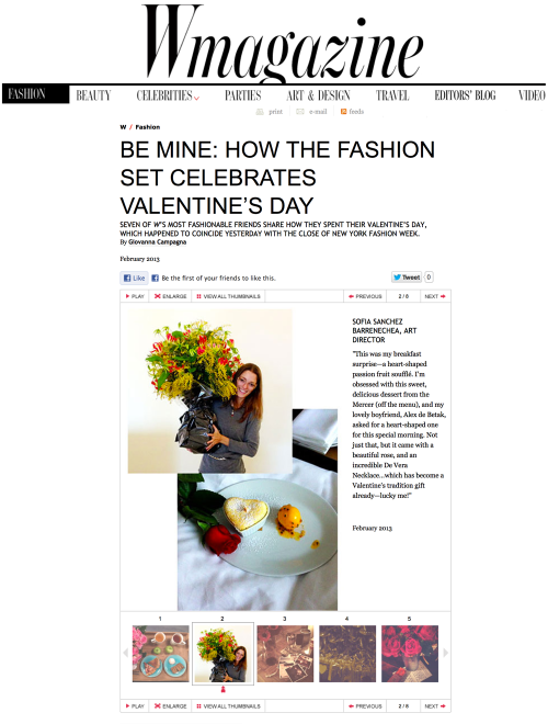 Be mine: How the fashion set celebrates Valentine's day