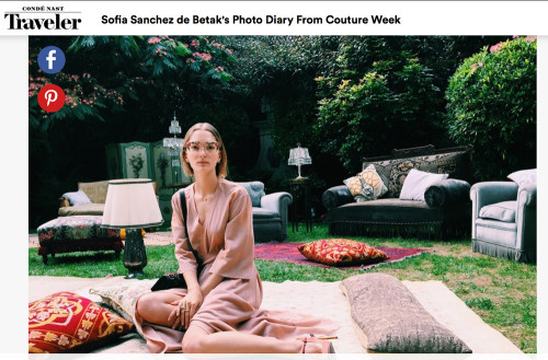 Sofia Sanchez de Betak's Photo Diary from Couture Week