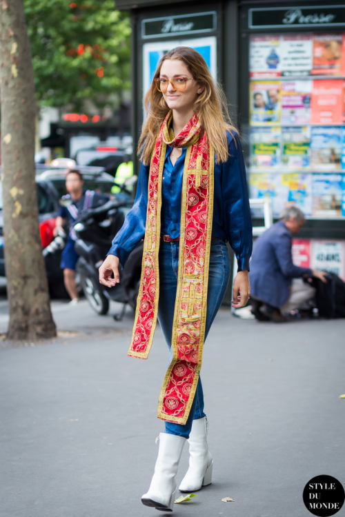 Outside Elie Saab, Paris Couture