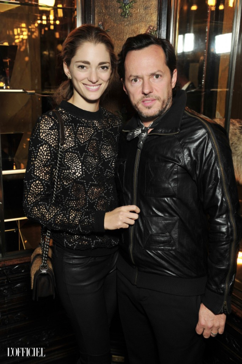 anthony Vaccarello x Lancôme dinner, PFW SS16