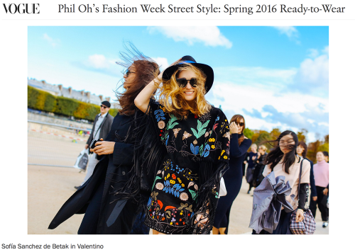 Phil Oh's Fashion Week Street Style: Spring 2016 Ready-to-Wear II