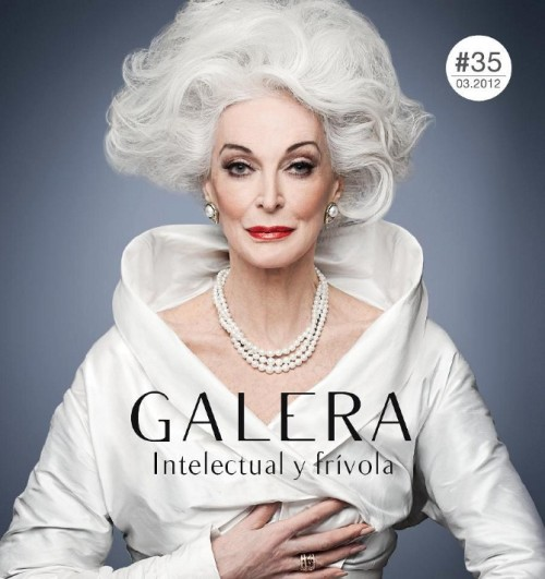 Carmen Dell'Orefice Cover