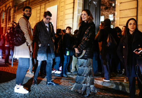 Outside Valentino Couture II