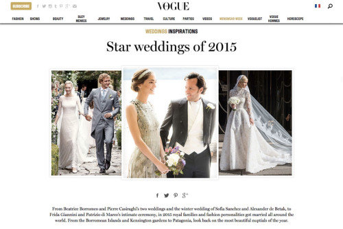 Star Weddings of 2015