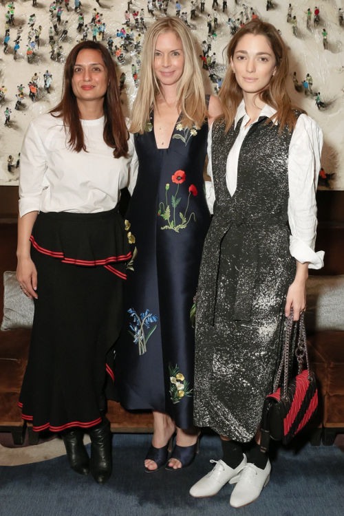 Sofía Sanchez de Betak, Cynthia Nixon, and Sarah Rutson Attend The Society of Memorial Sloan Kettering's Winter Lunch