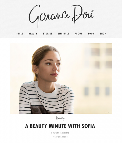 A Beauty Minute with Sofia