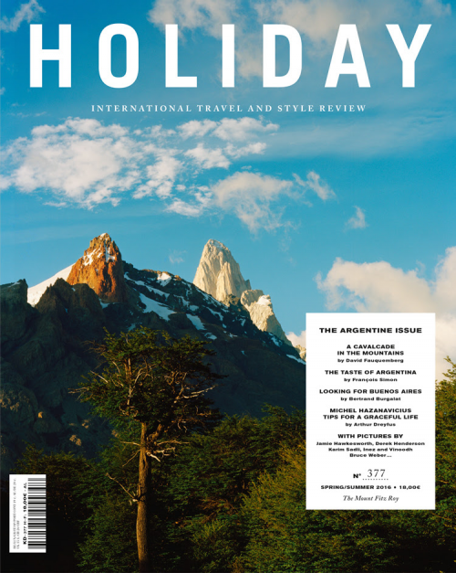 Contributing Editor for Holiday Magazine: the Argentine Issue