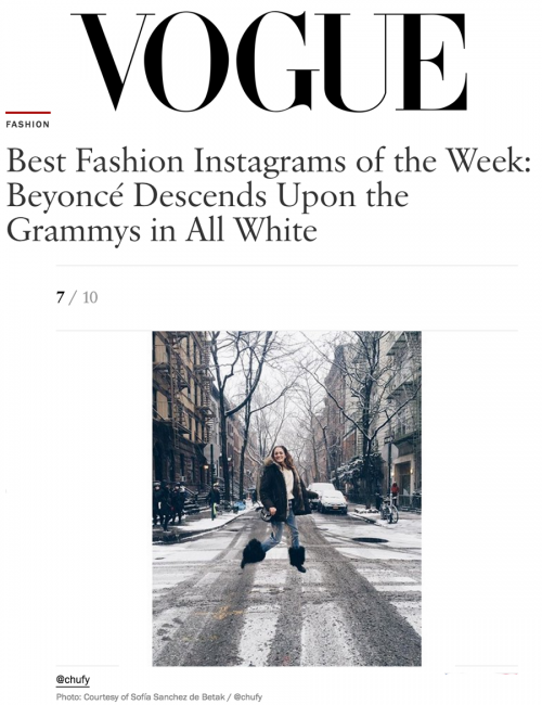 Best Fashion Instagrams of the Week: Beyoncé Descends Upon the Grammys in All White