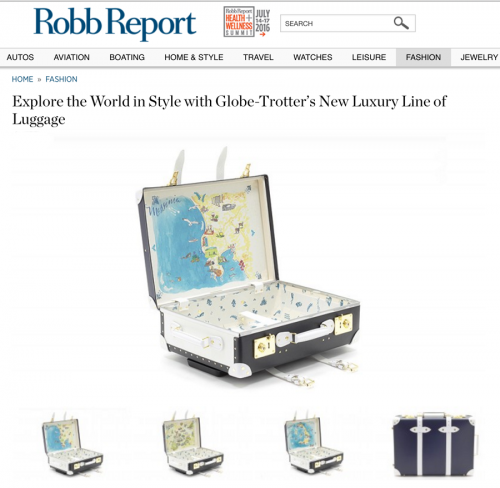 Explore the World in Style with Globe-Trotter's New Luxury Line of Luggage