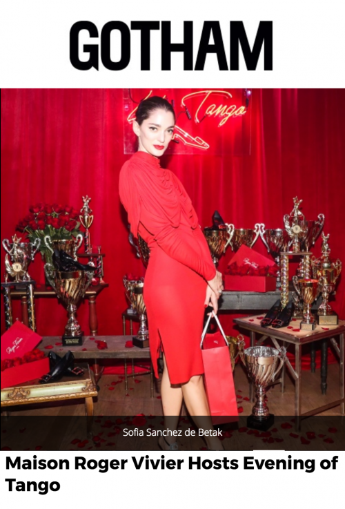 Maison Roger Vivier Hosts Evening of Tango