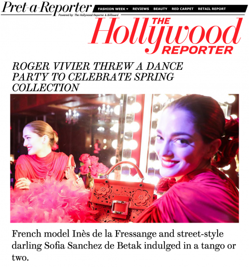 Roger Vivier threw a Dance Party to Celebrate Spring Collection