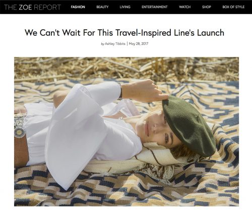 We Can't Wait For This Travel-Inspired Line's Launch