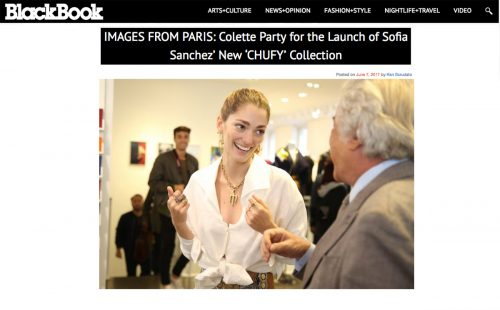 Colette Party for the Launch of Sofia Sanchez' New 'CHUFY' Collection