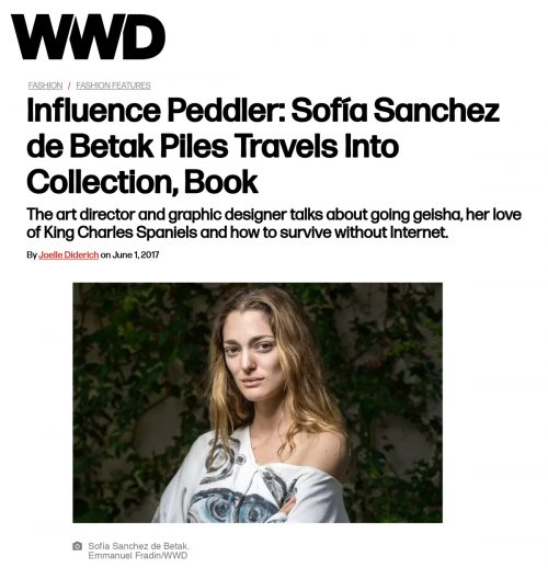 Sofía Sanchez de Betak Piles Travels Into Collection, Book