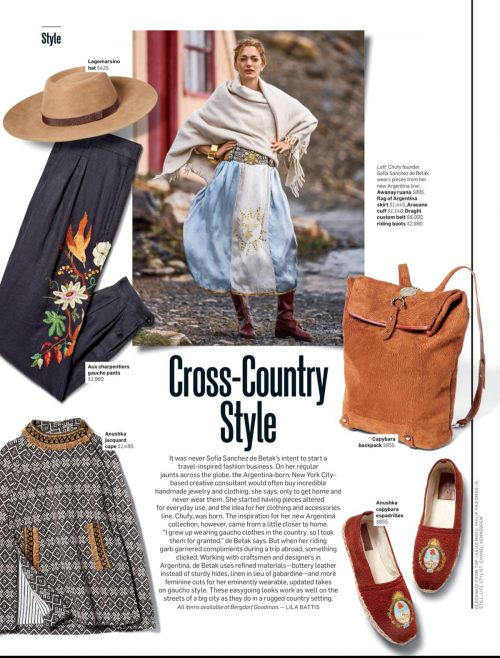 Cross-Country Style